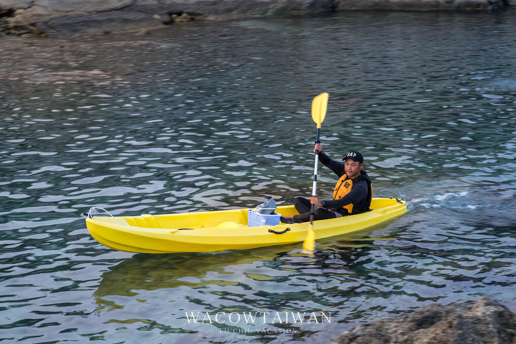 小琉球獨木舟-陸上行舟