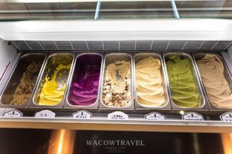 台南新美街-富貴冰淇淋